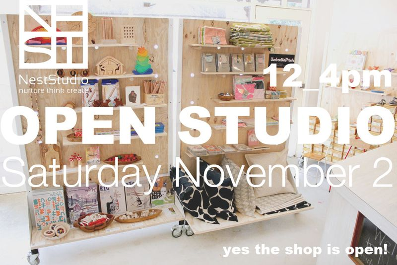 OPEN STUDIO NOV 2