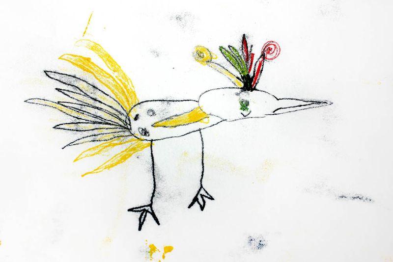 Zoe threecolour mono